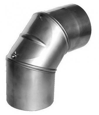 Segmentový oblouk 90°s čistícím otvorem 100.3SB90RV.50